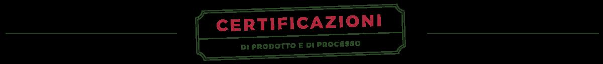 Certificazioni Frutta